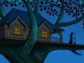 Zostałeś porwany przez wredną wiedźmę. Zdołasz wydostać się z jej nawiedzonego domku na drzewie?  Sterowanie = MYSZKA