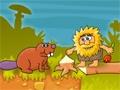 Przyjemna gierka w stylu Point and Click. Pomóż Adamowi pokonać wszystkie prehistoryczne pułapki, tak aby bez przeszkód dotarł do Ewy.  Sterowanie = MYSZKA