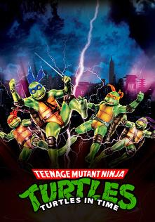 Wojownicze Żółwie Ninja III (1993) Lektor PL